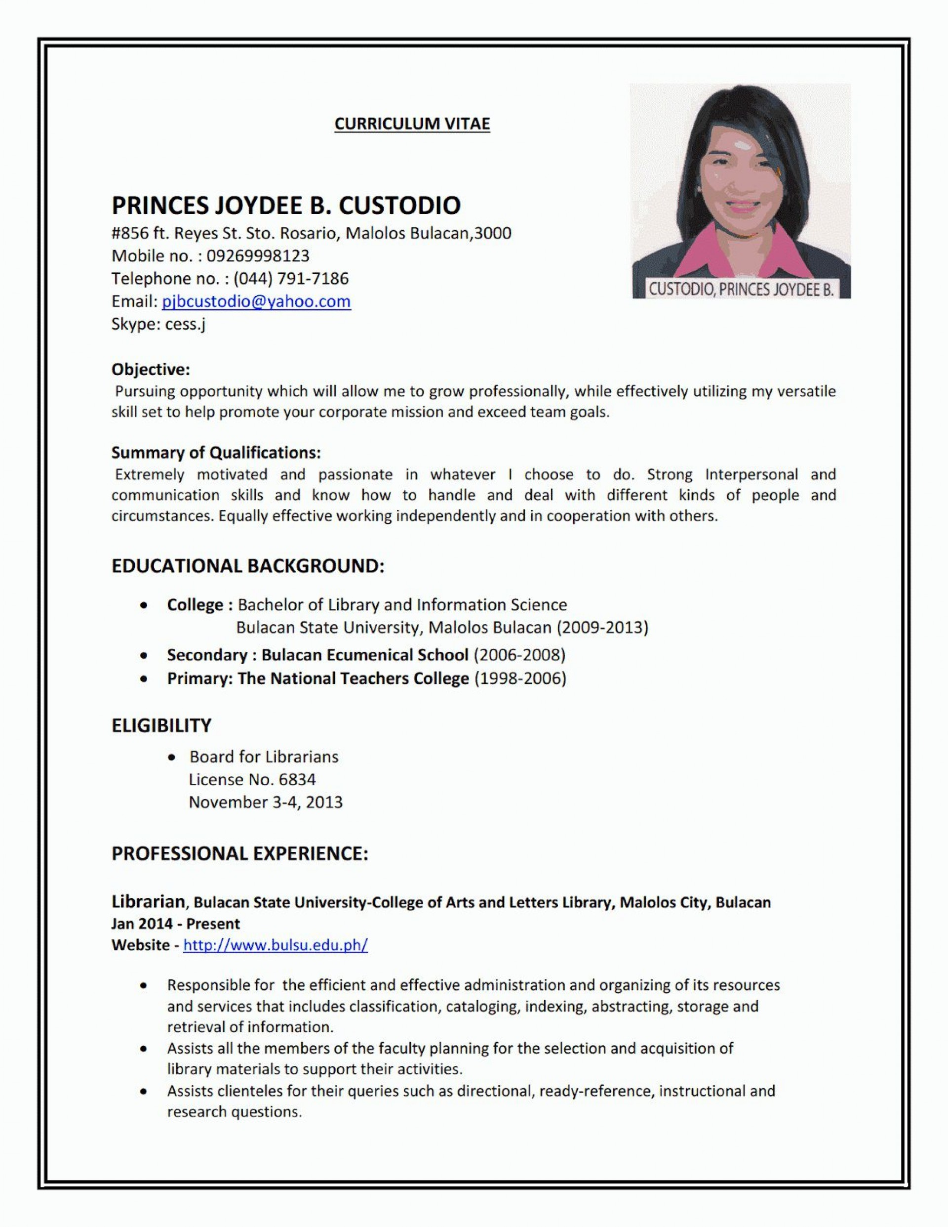 005 Imposing Resume Template For First Job Highest Quality  No Experience Student Cv Nz Format1920