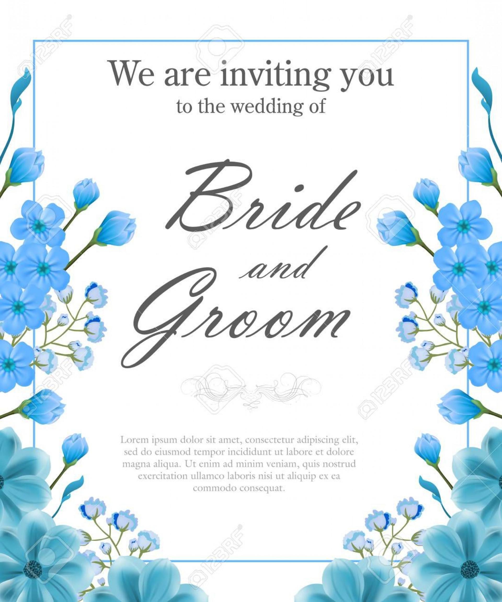005 Imposing Sample Wedding Invitation Template Image  Templates Wording Card1920