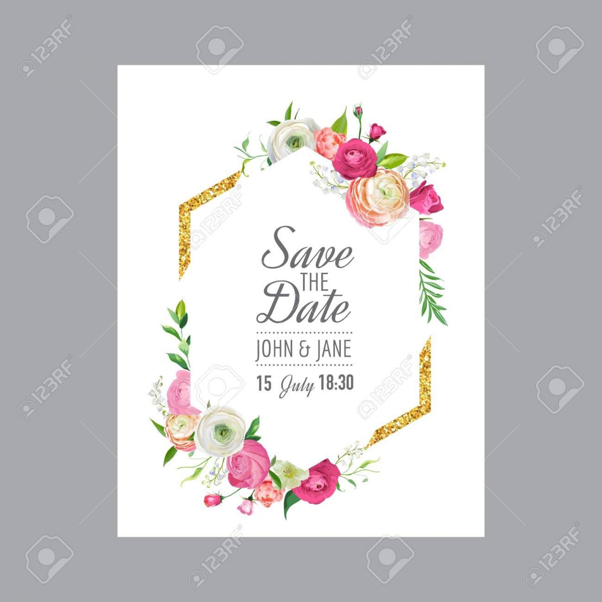005 Imposing Save The Date Birthday Card Template High Definition  Free Printable1920