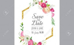 005 Imposing Save The Date Birthday Card Template High Definition  Free Printable