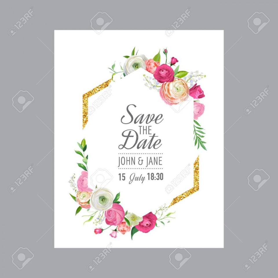 005 Imposing Save The Date Birthday Card Template High Definition  Free Printable960