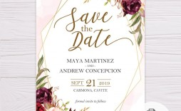 005 Imposing Save The Date Template Word Picture  Free Customizable For Holiday Party