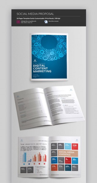 005 Imposing Social Media Proposal Template 2019 Sample 320