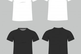 005 Imposing T Shirt Template Free High Resolution  Adobe Illustrator Download Men' T-shirt Design Polo