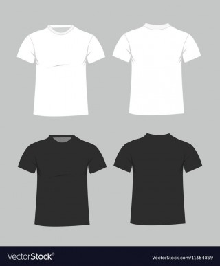 005 Imposing T Shirt Template Free High Resolution  Adobe Illustrator Download Men' T-shirt Design Polo320