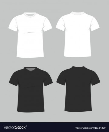 005 Imposing T Shirt Template Free High Resolution  Adobe Illustrator Download Men' T-shirt Design Polo360