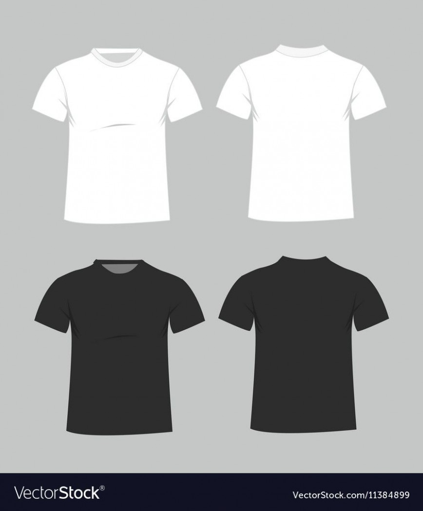 005 Imposing T Shirt Template Free High Resolution  Adobe Illustrator Download Men' T-shirt Design Polo868