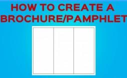 005 Imposing Tri Fold Template Google Doc Sample  Docs Brochure Free Pamphlet Blank Slide