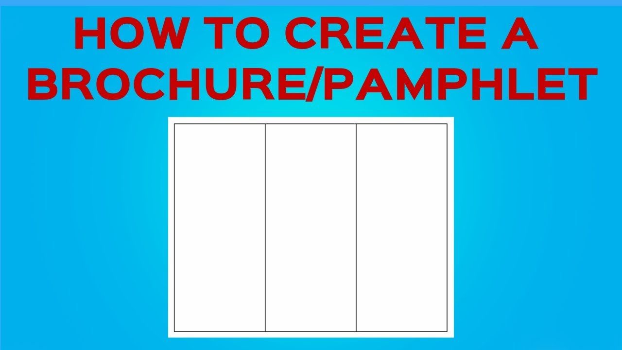 005 Imposing Tri Fold Template Google Doc Sample  Docs Brochure Free Pamphlet Blank SlideFull