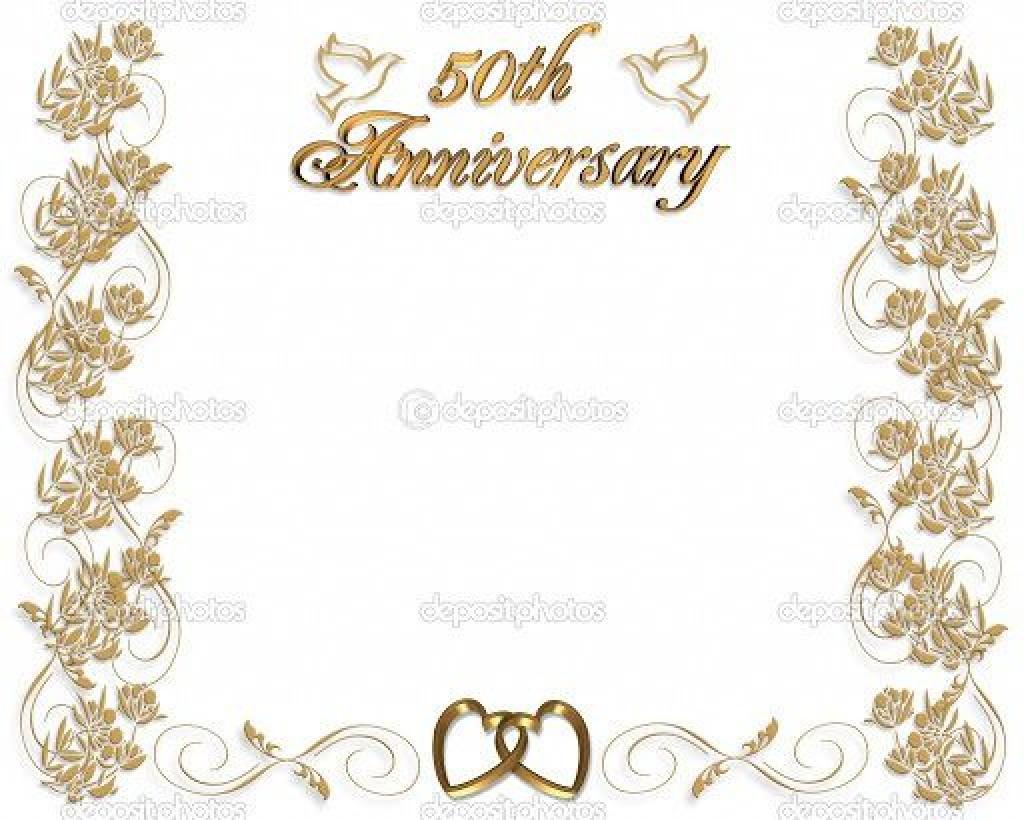 005 Impressive 50th Wedding Anniversary Invitation Template Microsoft Word Idea  FreeLarge