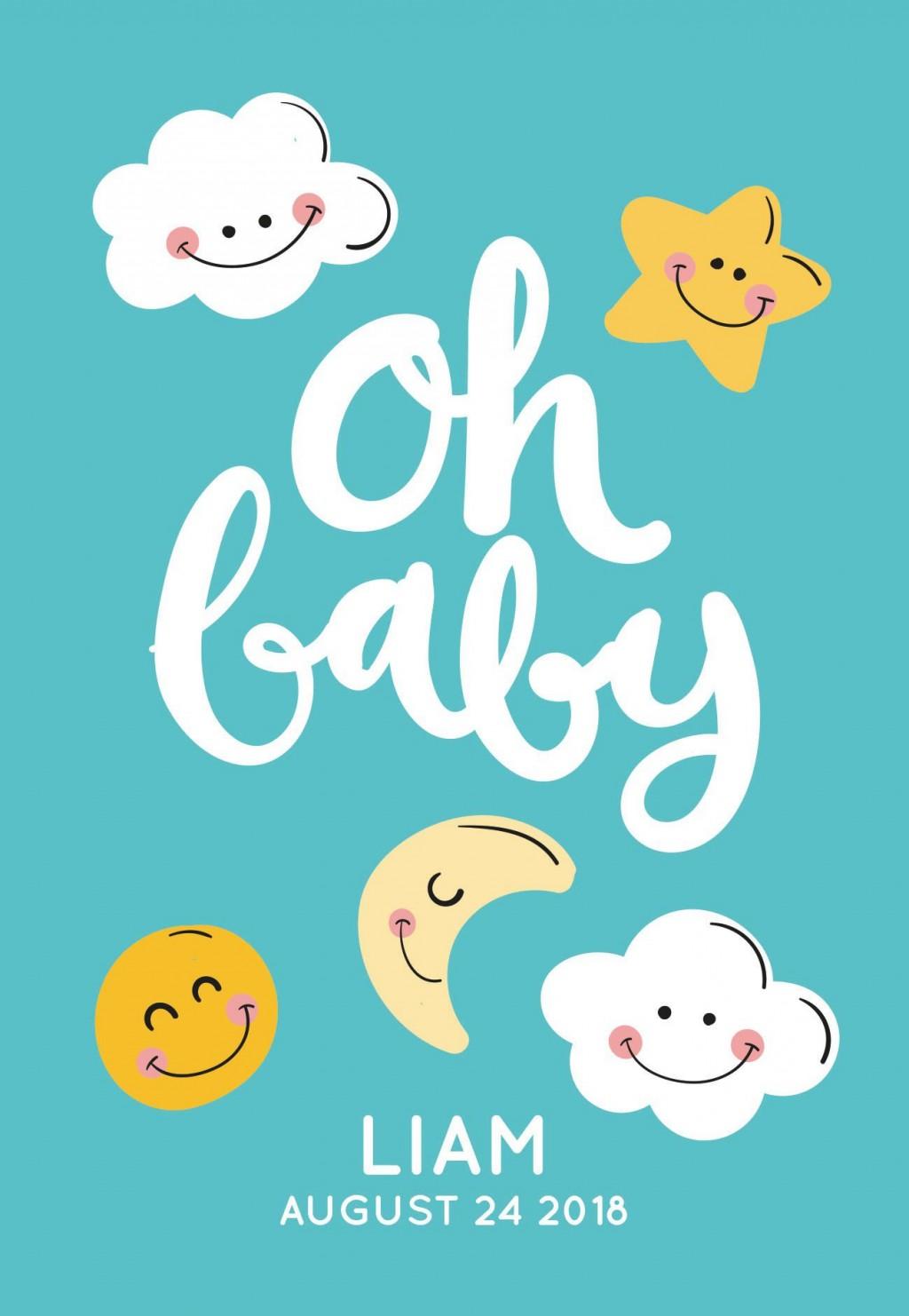 005 Impressive Baby Shower Card Design Free  Template Microsoft Word Boy DownloadLarge