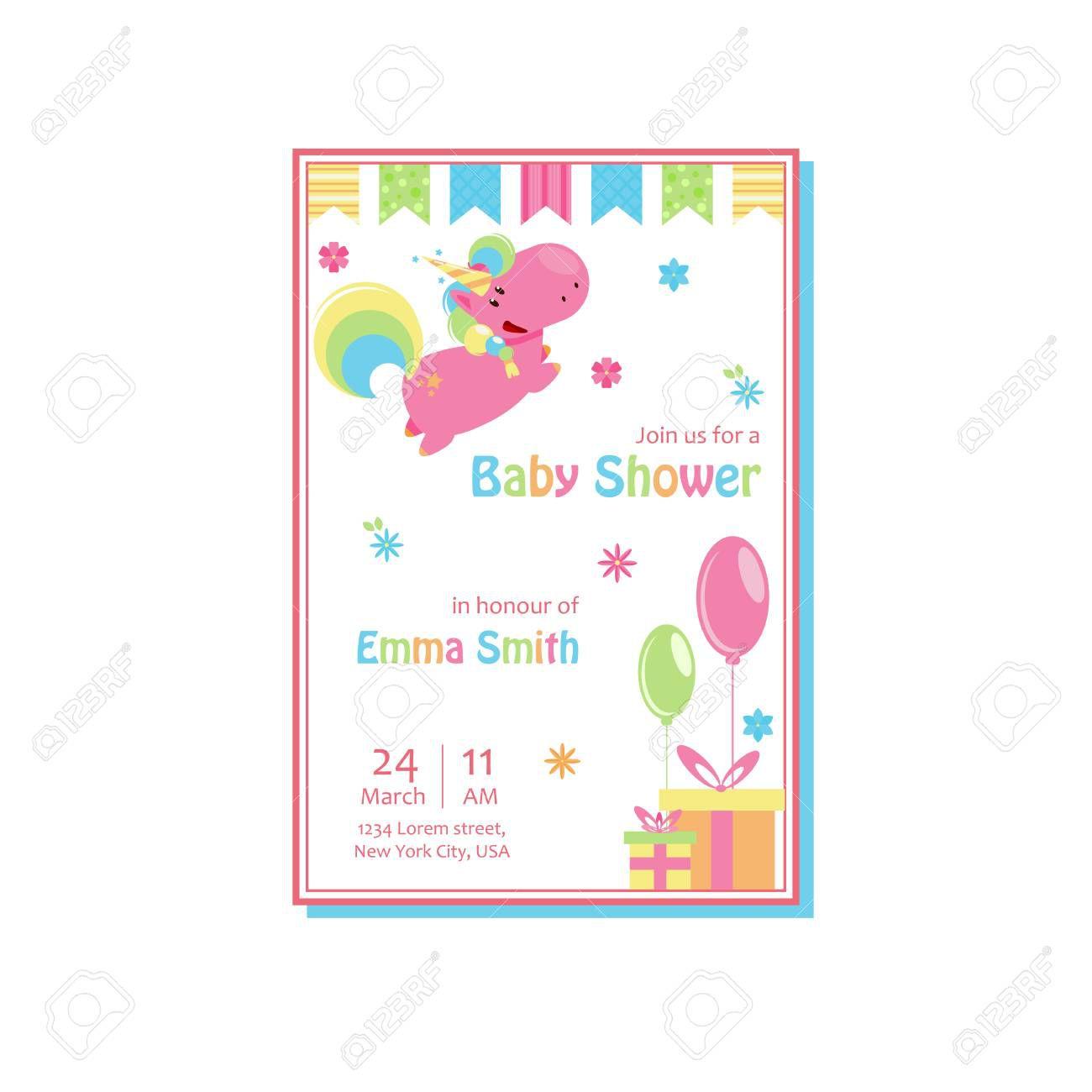 005 Impressive Baby Shower Card Template Sample  Microsoft Word Invitation Design Online Printable FreeFull