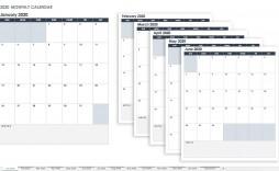 005 Impressive Calendar Template Google Doc High Resolution  Docs Editable Two Week 2019-20