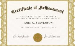 005 Impressive Certificate Template For Word Idea  Award 2007 M