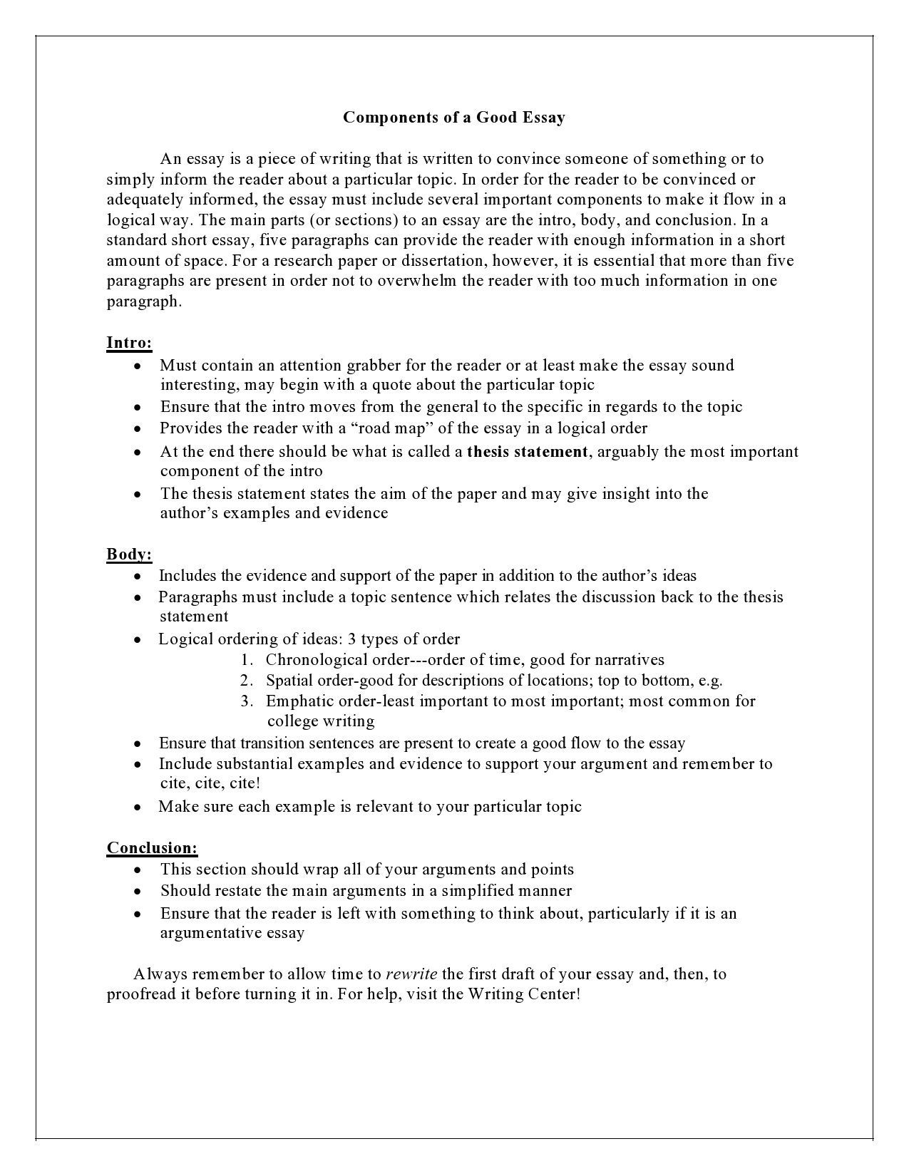 005 Impressive College Essay Format Example Idea  Examples Writing Application Sample AdmissionFull