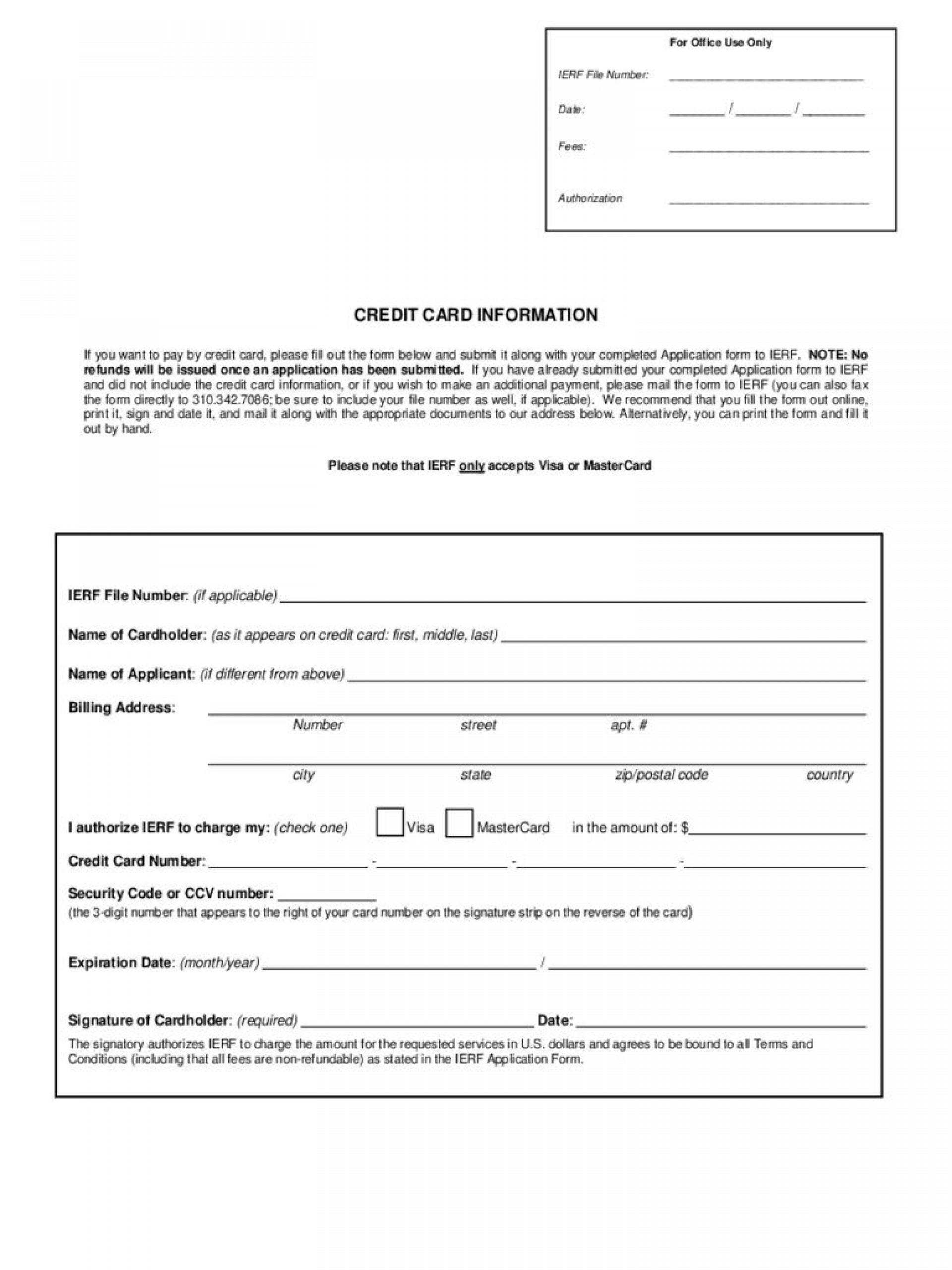 005 Impressive Credit Card Template Word High Def  Authorization Hotel Form Slip1920