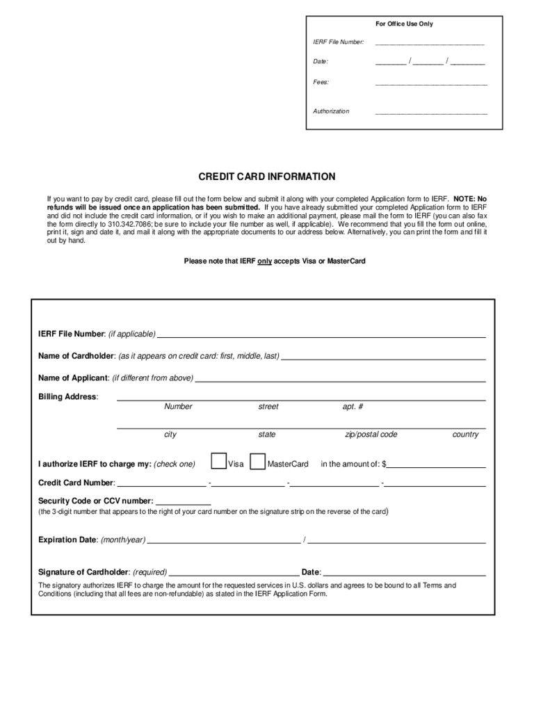 005 Impressive Credit Card Template Word High Def  Authorization Hotel Form SlipFull