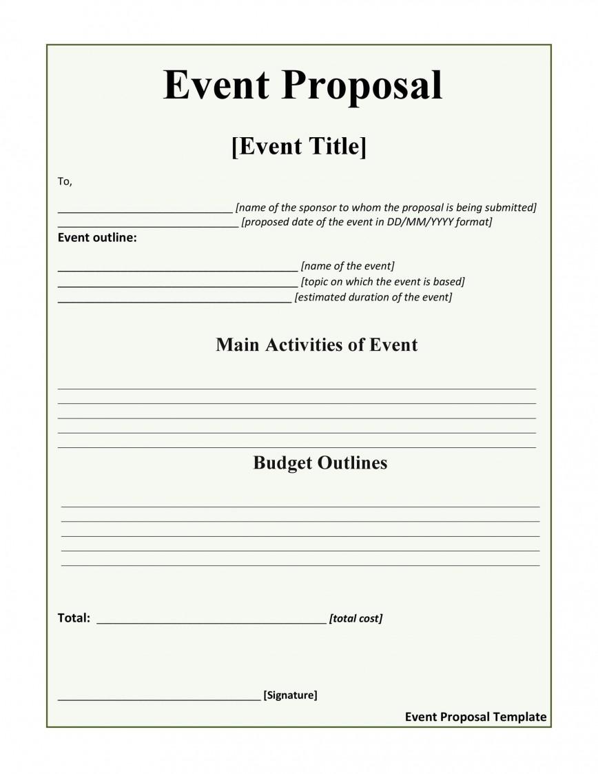 005 Impressive Event Planning Proposal Template High Def  Doc Ppt Pdf