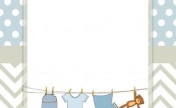 005 Impressive Free Baby Shower Printable Boy Sample  Oh Invitation For