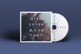 005 Impressive Free Cd Cover Design Template Photoshop Highest Clarity  Label Psd Download