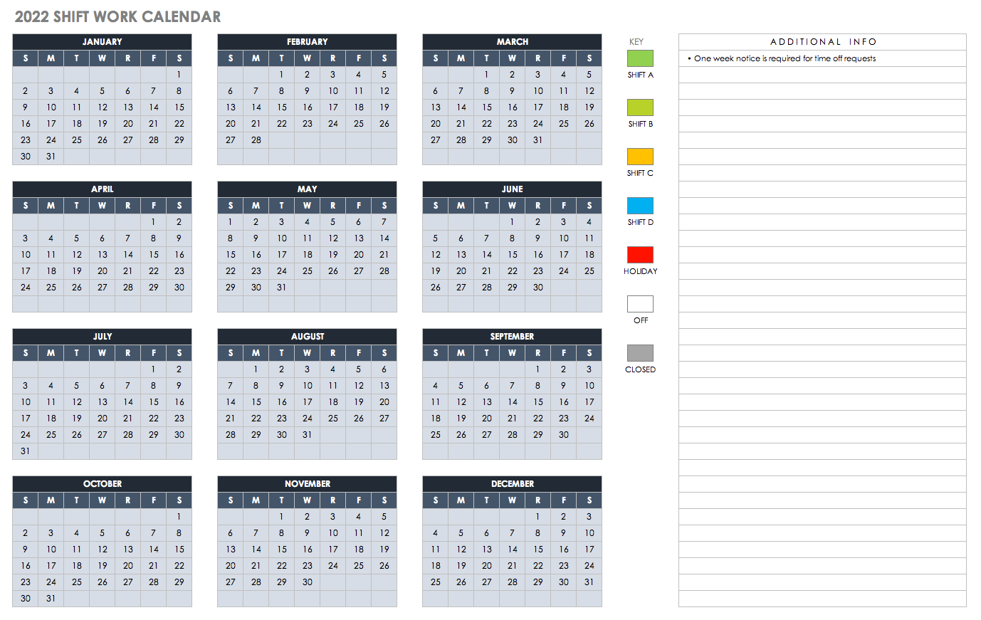 005 Impressive Free Excel Calendar Template Inspiration  2020 Monthly Download Biweekly Payroll 2018Full