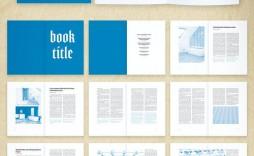 005 Impressive Free Indesign Book Template Download Photo  Cs3 Cs6