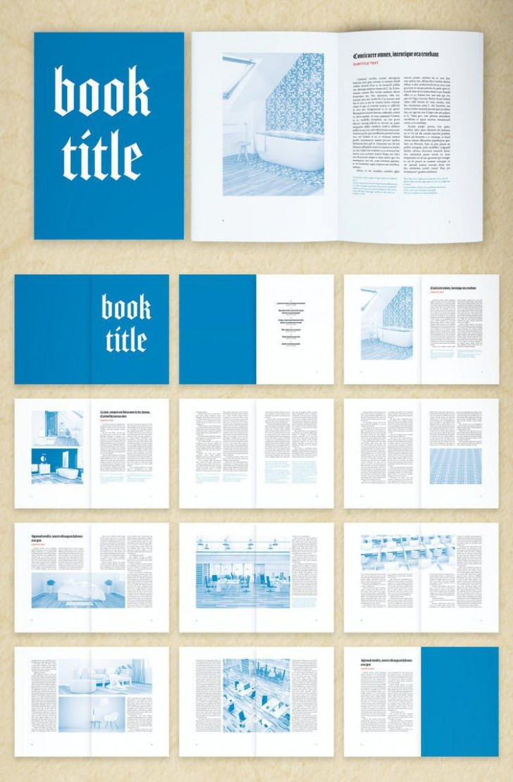 005 Impressive Free Indesign Book Template Download Photo  Cs6 Adobe728