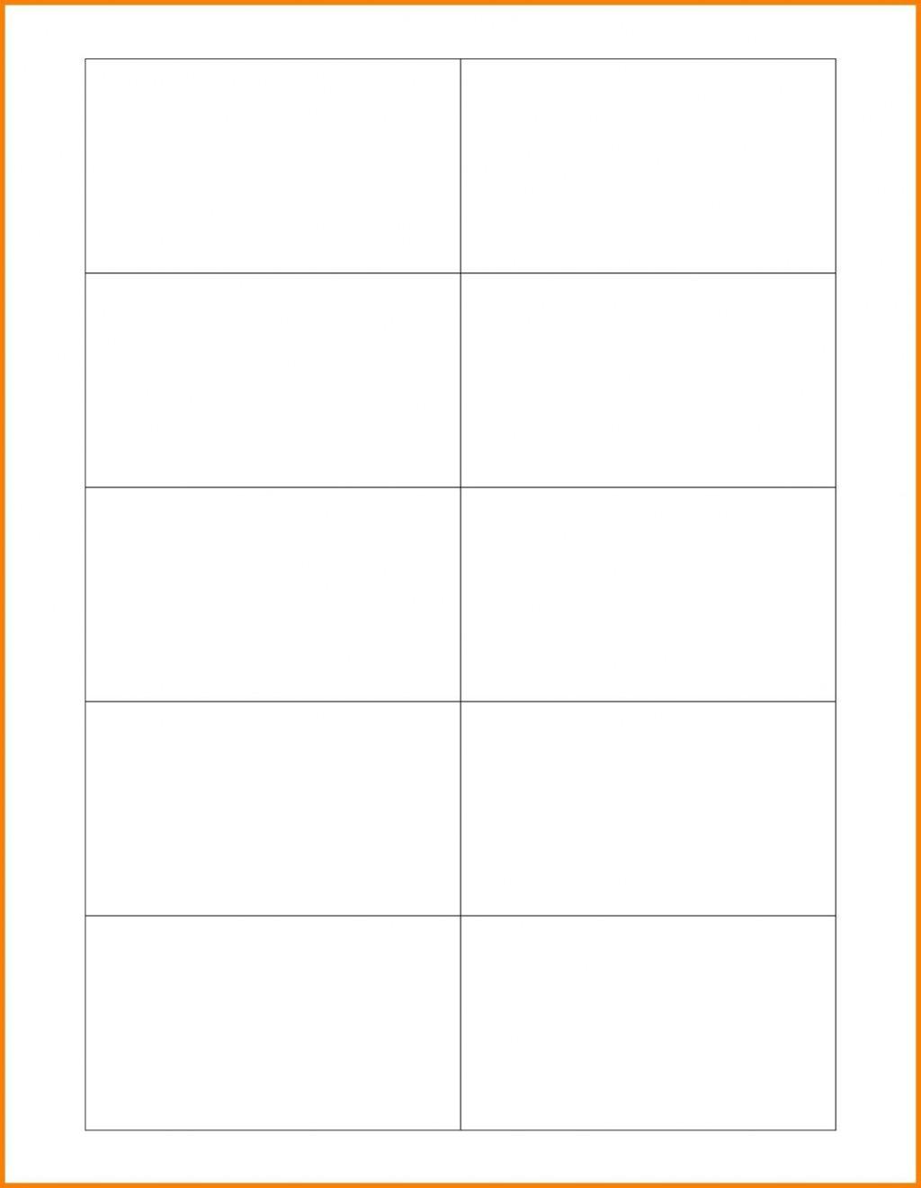 005 Impressive Free Printable Busines Card Template For Word Sample  BlankLarge