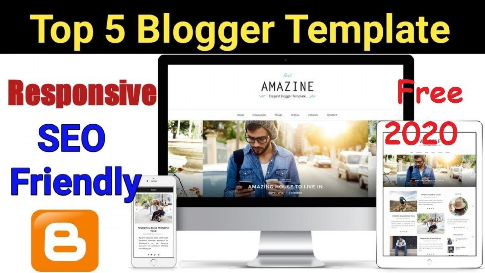 005 Impressive Free Seo Responsive Blogger Template High Resolution  Templates1920