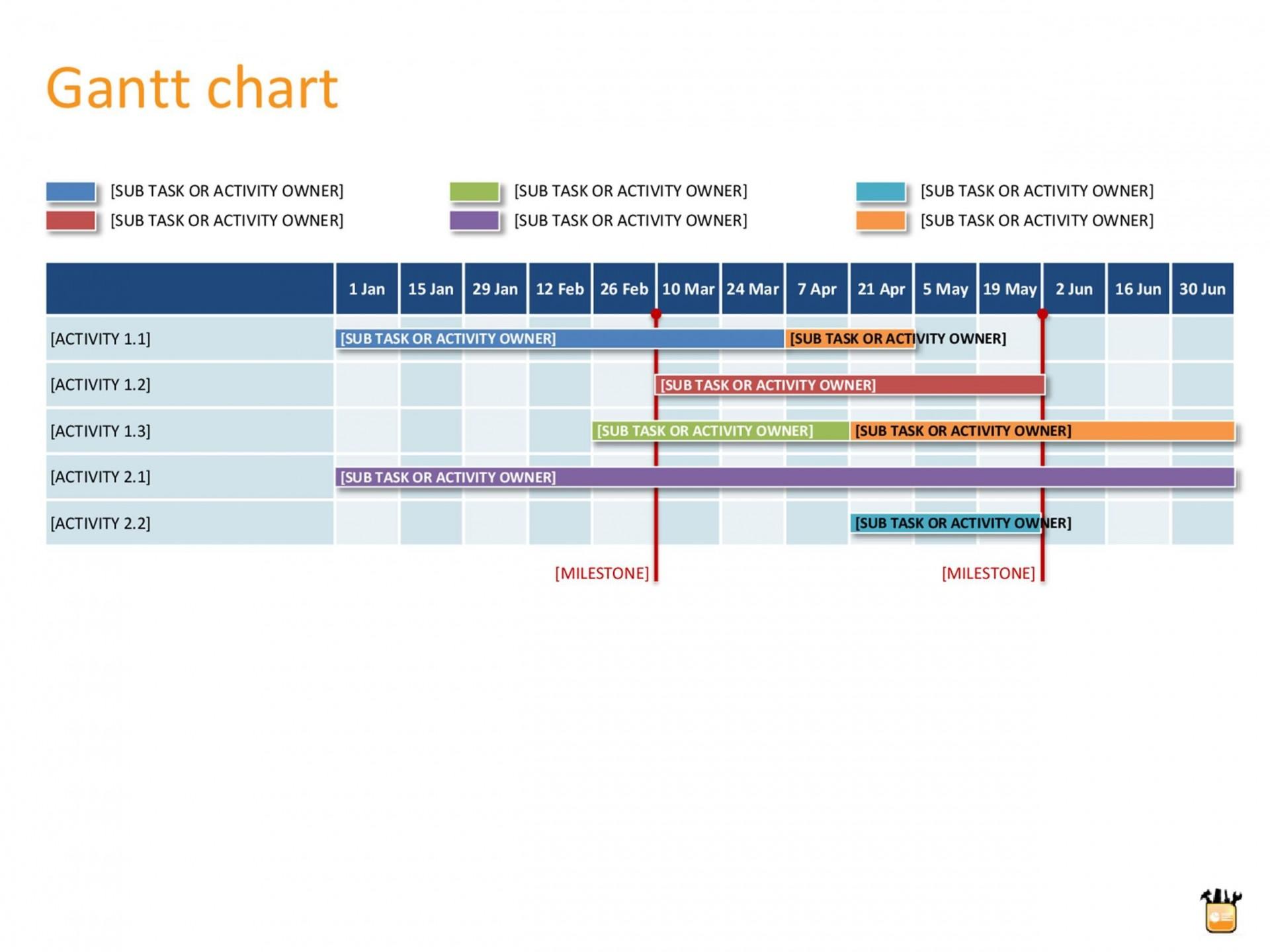 005 Impressive Gantt Chart Powerpoint Template Highest Clarity  Microsoft Free Download Mac1920