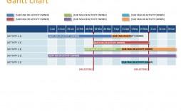 005 Impressive Gantt Chart Powerpoint Template Highest Clarity  Microsoft Free Download Mac