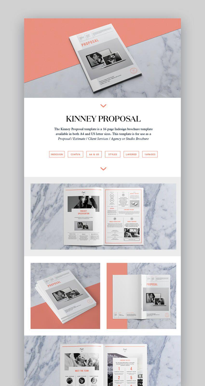 005 Impressive Graphic Design Proposal Sample Inspiration  Pdf Free Template IndesignFull