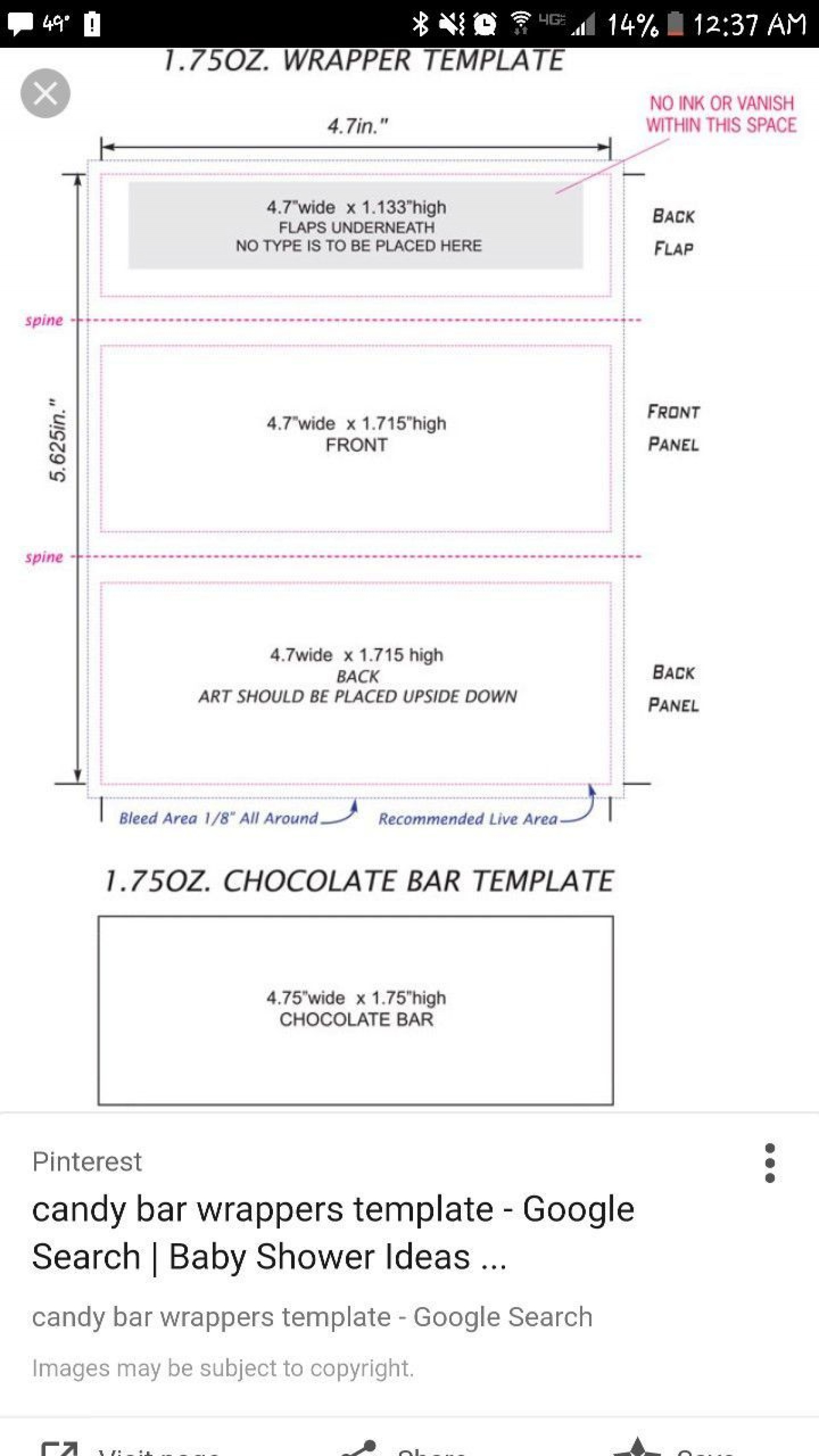005 Impressive Hershey Candy Bar Wrapper Template Image  Free Word1920
