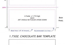 005 Impressive Hershey Candy Bar Wrapper Template Image  Free Word
