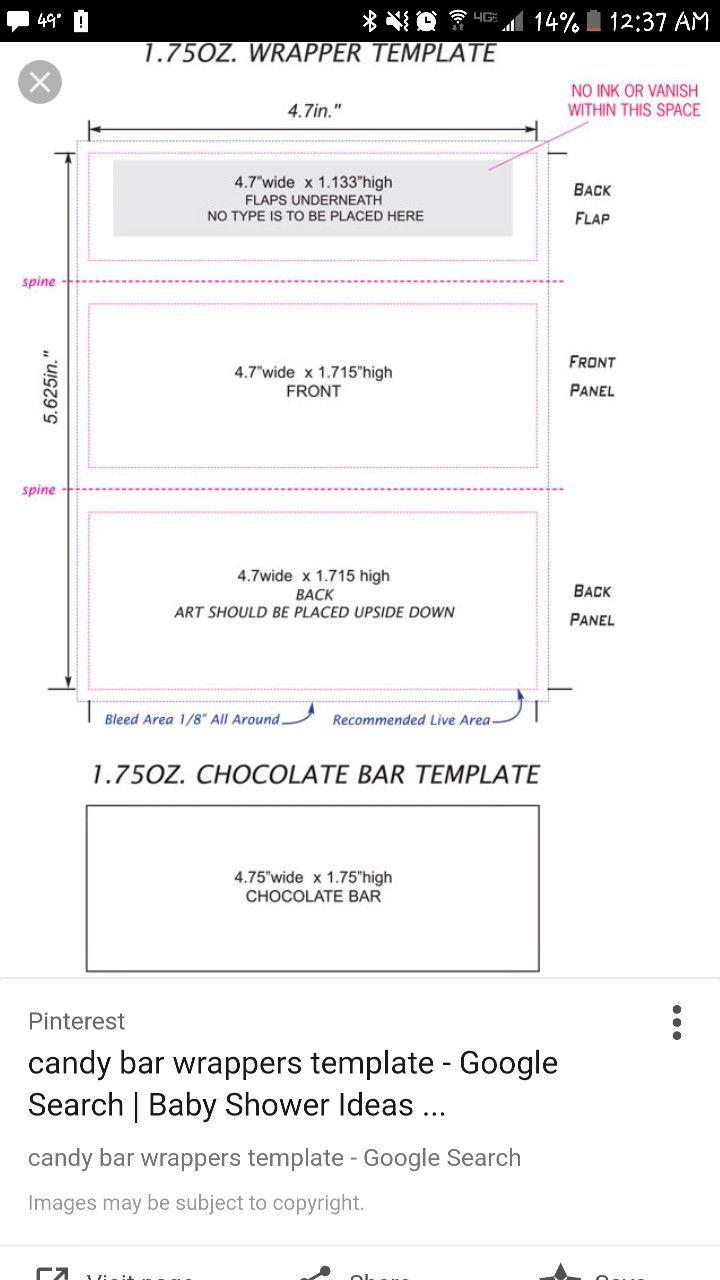 005 Impressive Hershey Candy Bar Wrapper Template Image  Free WordFull