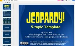 005 Impressive Jeopardy Template Google Slide High Resolution  Slides Board Blank Best
