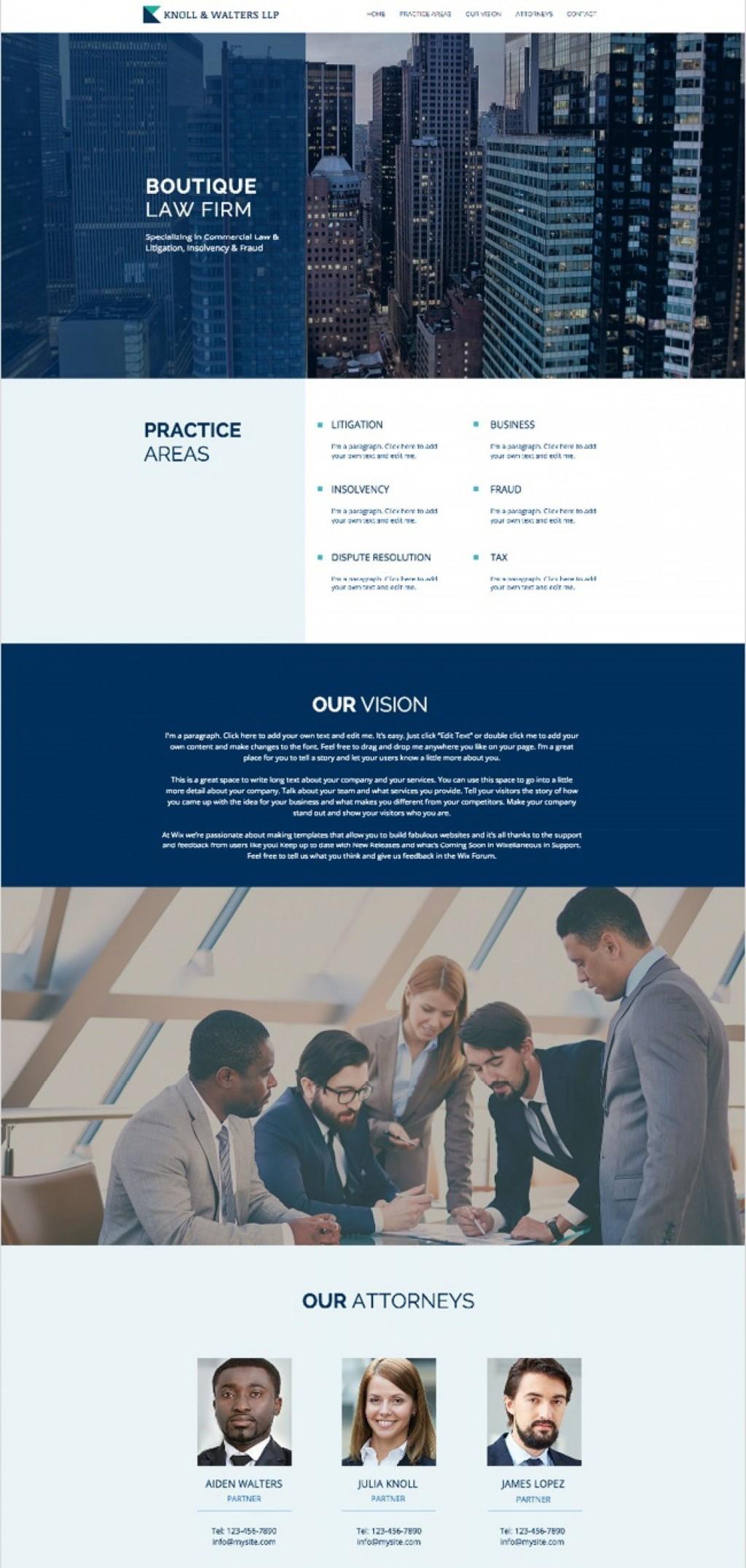 005 Impressive Law Firm Website Template Free High Definition  WordpresLarge