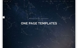 005 Impressive One Page Website Html Template Free Download Image  Cs Simple With Responsive