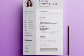 005 Impressive Professional Resume Template 2018 Free Download Idea