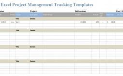 005 Impressive Project Management Template Free Excel Idea  Portfolio Construction Tracking