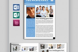 005 Impressive Publisher Newsletter Template Free Idea  M Download Microsoft