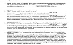 005 Impressive Rental Contract Template Free Download Concept  Agreement Sample Room Form