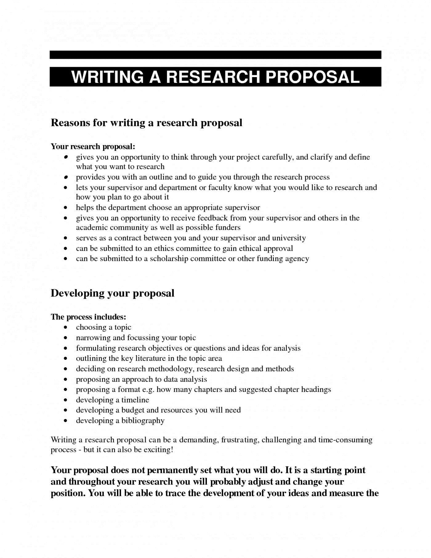 005 Impressive Research Paper Proposal Example Chicago Sample Full