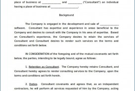 005 Impressive Simple Consulting Agreement Template Inspiration  Service Uk Free