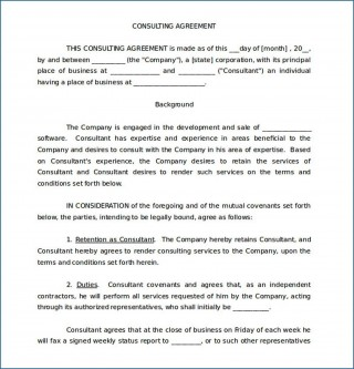 005 Impressive Simple Consulting Agreement Template Inspiration  Service Uk Free320