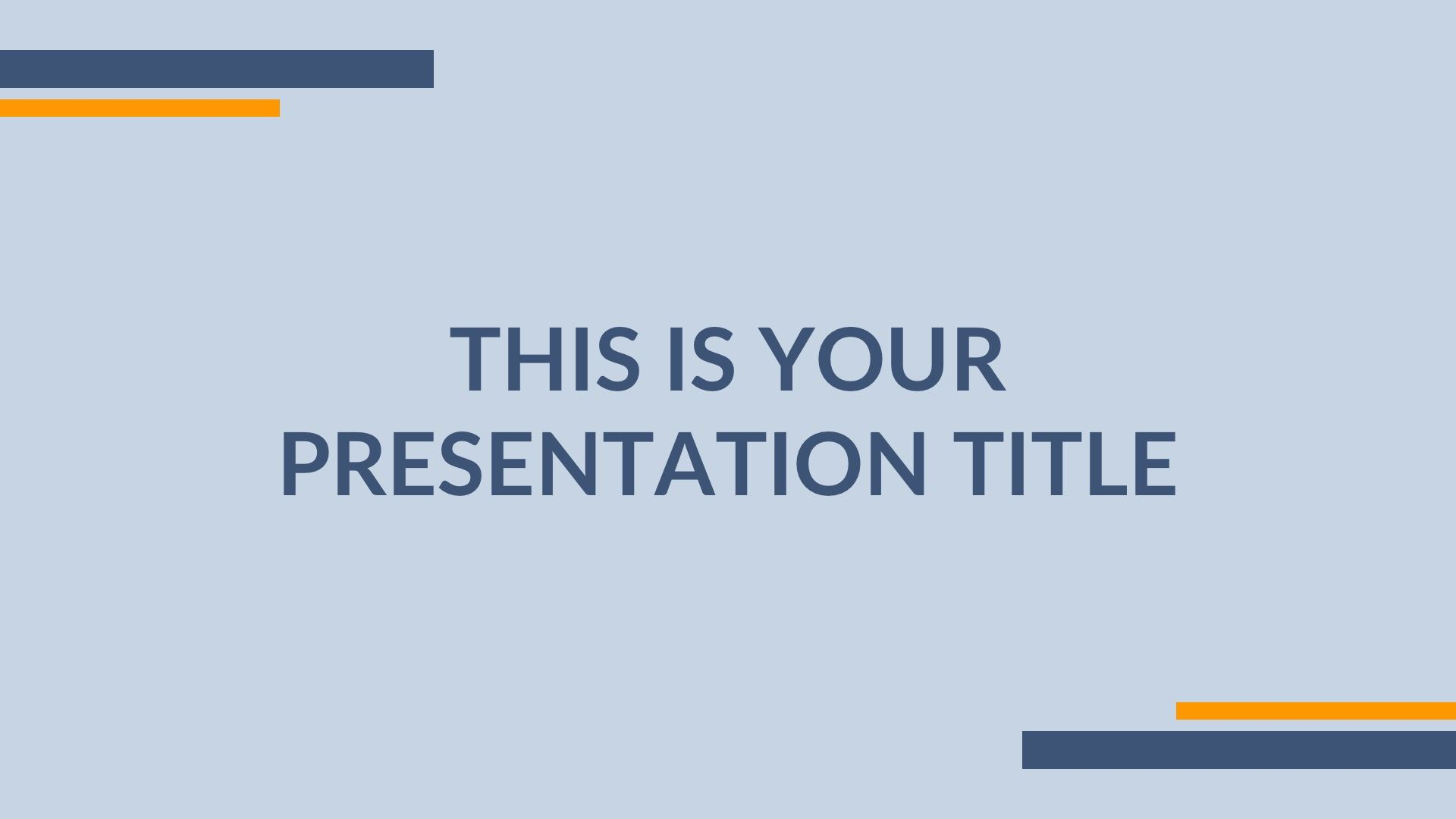 005 Impressive Simple Ppt Template Free Download For Project Presentation Idea Full