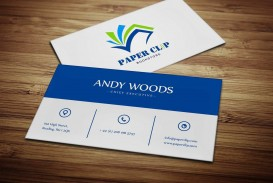 005 Impressive Staple Busines Card Template Image  Word Brand Heavyweight