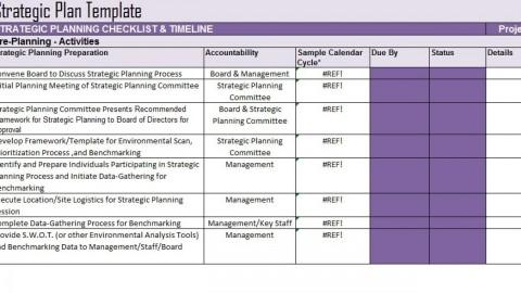 005 Impressive Strategic Planning Template Free High Def  Account Plan Ppt480