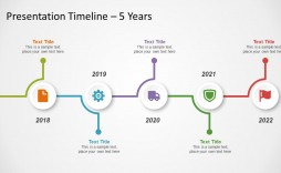 005 Impressive Timeline Powerpoint Template Download Free Image  Infographic Project Animated