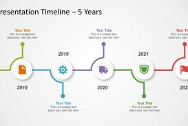 005 Impressive Timeline Powerpoint Template Download Free Image  Project Animated